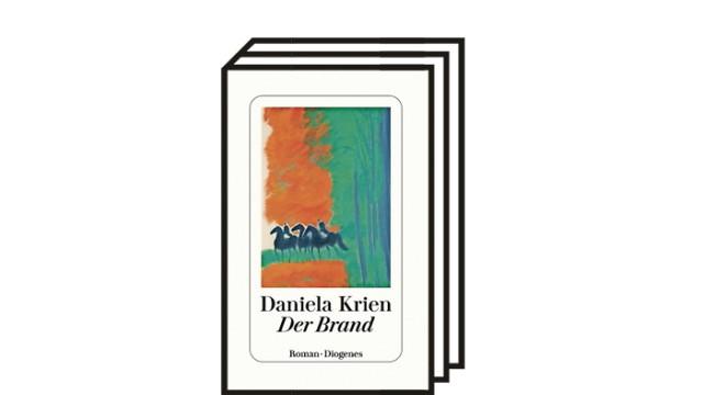 """Daniela Krien: """"Der Brand"""": Daniela Krien: Der Brand. Roman. Diogenes, Zürich 2021. 272 Seiten, 22 Euro."""