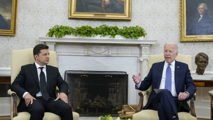 Joe Biden, Volodymyr Zelensky