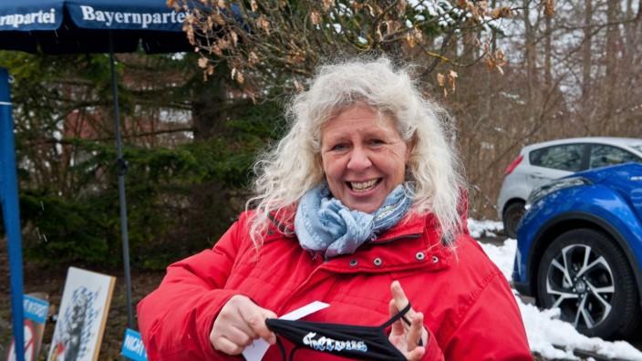 Simone Binder, Bayernpartei: Bildung und Umweltschutz sind wichtige Themen für Simone Binder.