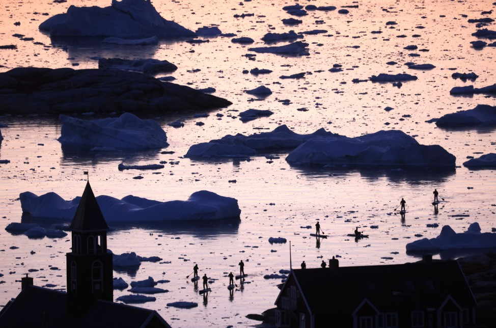 BESTPIX - Greenland Undergoes Many Changes Amid Acceleration Of Climate Change
