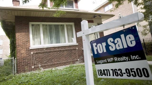 Einbruch der Immobilienpreise in den USA
