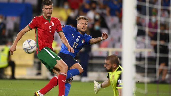 Photo LaPresse - Fabio Ferrari September, 02 2021 Florence, Italy soccer Italy vs Bulgaria - Qatar World Cup Qualifiers