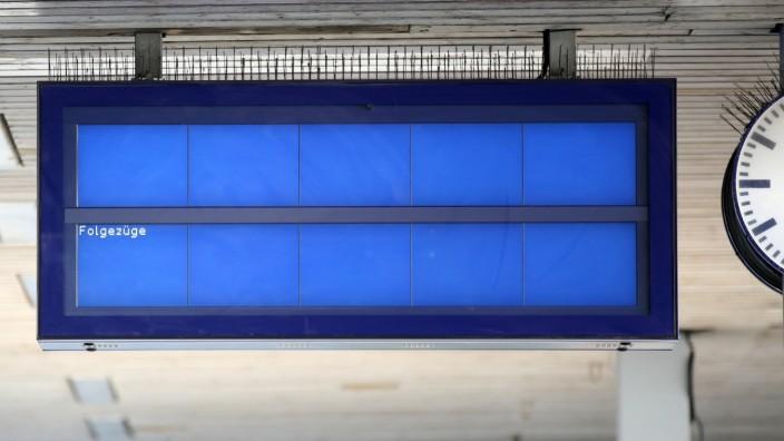 Lokführer-Streik im Personenverkehr - Hamburg
