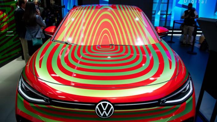 IAA Mobility 2021: Die E-Mobilitätsstudie ID.5 GTX von VW
