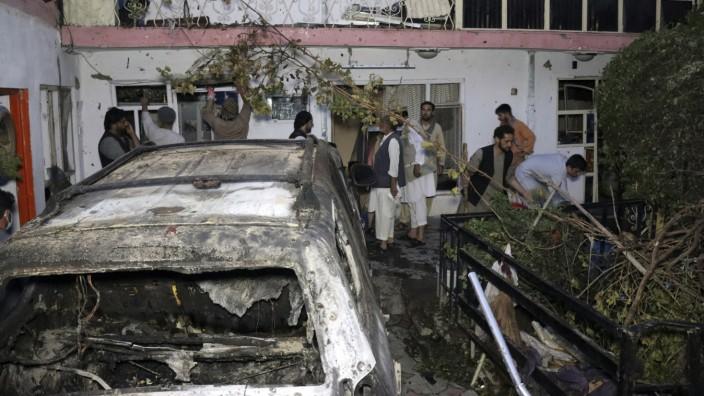 Afghanistan: Im Haus der Familie Ahmadi starben nach deren Angaben beim US-Drohnenangriff zehn Menschen, darunter sieben Kinder.