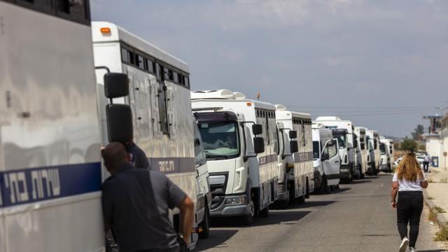Palästinensische Häftlinge flüchten aus israelischem Gefängnis