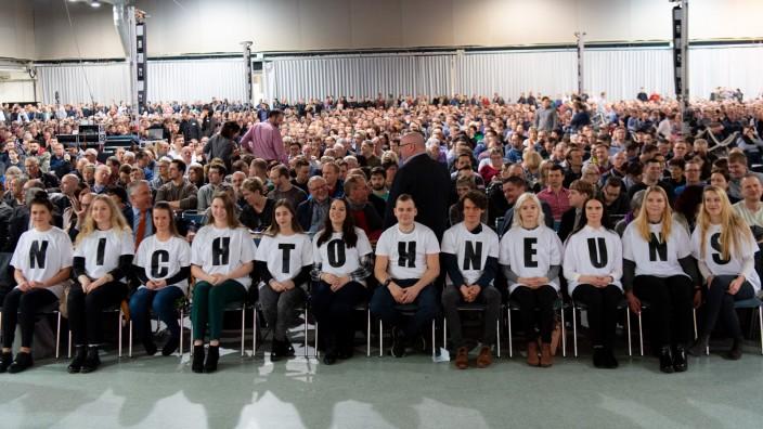 LEAG Betriebsversammlung zum Kohleausstieg