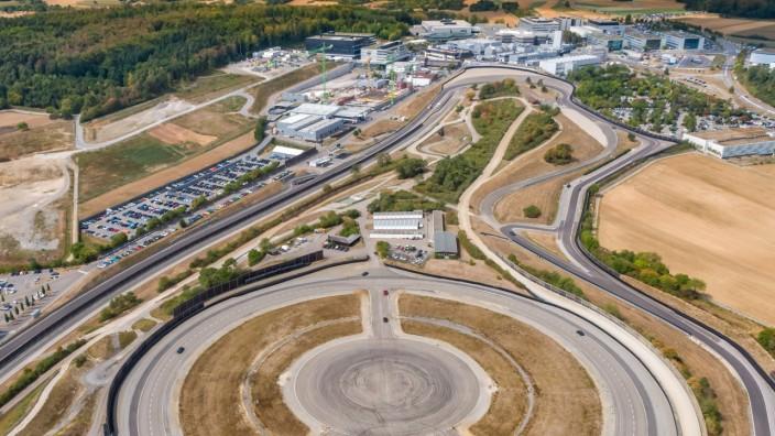 Pressebild: Porsche. Entwicklungszentrum Weissach,
