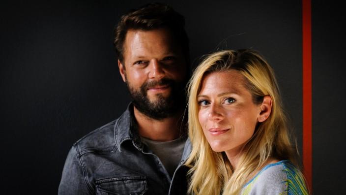 SZ-Serie: Künstlerpärchen: Im besten Licht: Der Filmregisseur Peter Thorwarth und seine Frau, die Schauspielerin Nele Kiper.