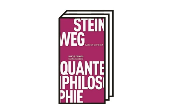 """Marcus Steinweg: """"Quantenphilosophie"""": Marcus Steinweg: Quantenphilosophie. Matthes & Seitz, Berlin 2021. 223 Seiten, 16 Euro."""