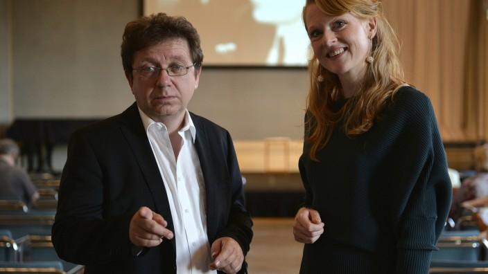 Preisverleihung: Norbert Hummelt und Anja Kampmann teilen sich das Preisgeld des mit 30 000 Euro dotierten Rainer-Malkowski-Preise.