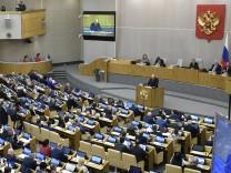 Russland: Kremlpartei bei Parlamentswahl klar vorne