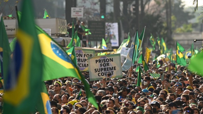 Unabhängigkeitstag in Brasilien