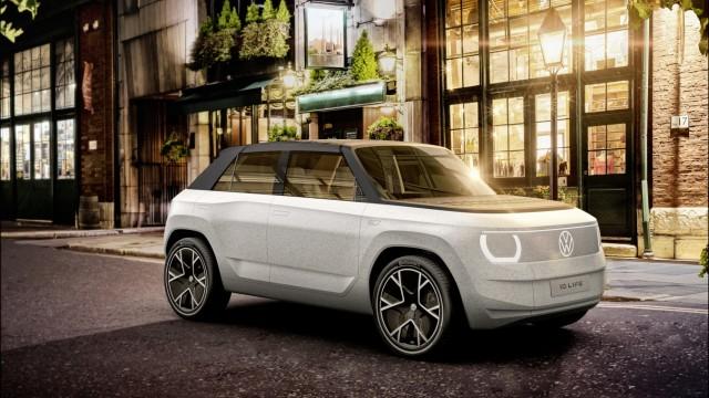 IAA-Rundgang: Die Kleinwagen-Studie ID Life von VW ist eine plumpe Mischung aus Ur-Golf und Kübelwagen. Aber bis zum Serienstart des ID 1 ist ja noch ein bisschen Zeit.