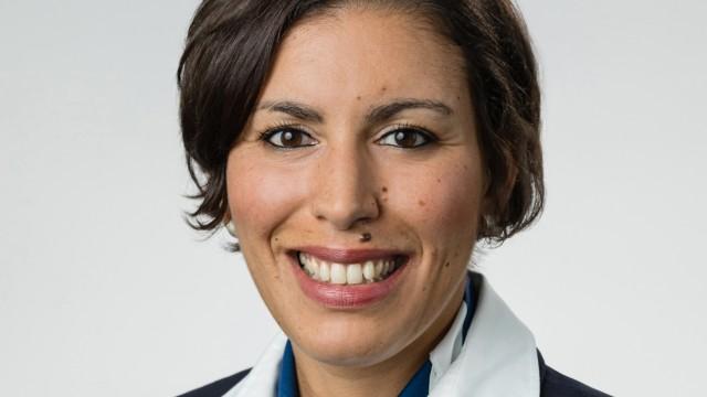 Leila Belaasri Pilotin Sprecherin Vereinigung Cockpit