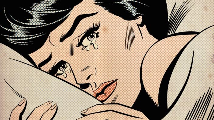 Weinen: Auf Knopfdruck weinen - geht das? Ja, zumindest im Comic.