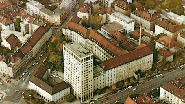 Hochhaus-Debatte: Türme prägen die Silhouette der Stadt: hier die Schwesternschule, Neuhausens erstes Hochhaus.
