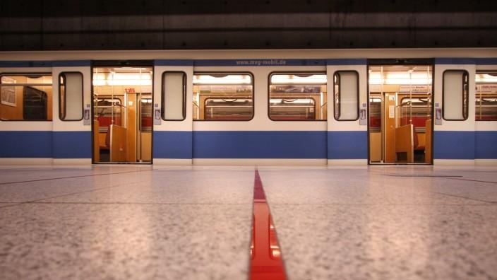 U-Bahn in München, 2009