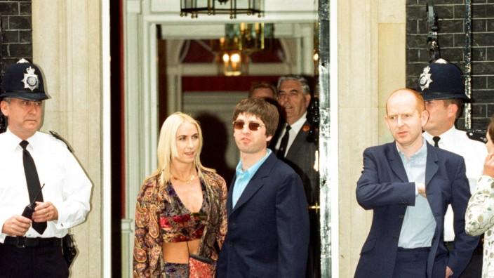 Noel Gallagher and his girlfriend Meg Matthews