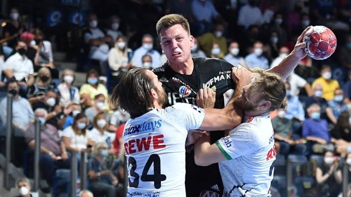 08.09.2021 - Handball - 1. Bundesliga LIQUI MOLY HBL - Saison 2021 2022 - 01. Spieltag: HC Erlangen Metropolregion Nürnb