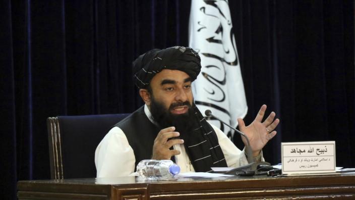 Taliban geben Übergangsregierung in Afghanistan bekannt