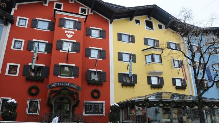 """Luxus-Hotel: Das Hotel """"Zur Tenne"""" in Kitzbühel."""