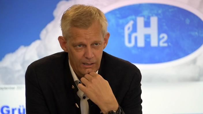 Erneuerbare Energien: Tobias Brunner setzt auf den Wasserstoffantrieb.