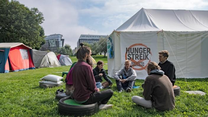Hungern für eine bessere Klima-Politik