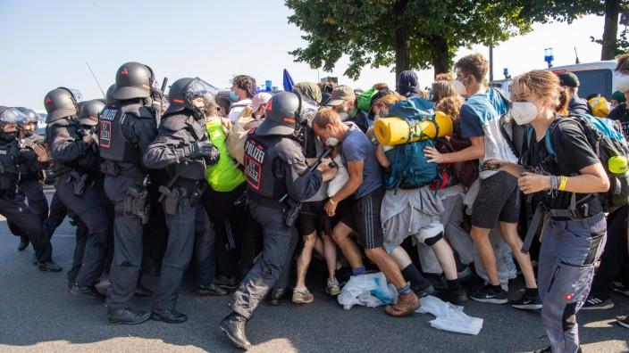IAA Mobility - Proteste