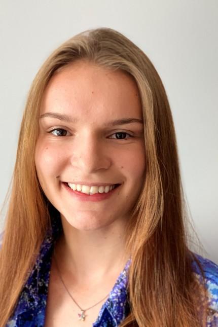 Umfrage zum Schulstart: Gymnasiastin Naomi Hinkel.