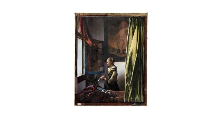 Johannes Vermeer, Brieflesendes Mädchen am offenen Fenster, 1657-59 Zustand nach der Restaurierung © Gemäldegalerie Alte Meister, Staatliche Kunstsammlungen Dresden, Foto: Wolfgang Kreische