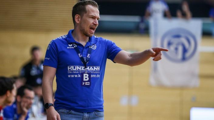25.06.2021 Handball 2.Bundesliga TV Grosswallstadt - VFL Gummersbach emspor, emonline, rmsport,v.l., Trainer Ralf Bader; Handball
