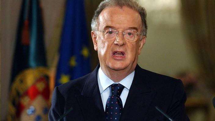 Portugals Ex-Präsident Sampaio gestorben