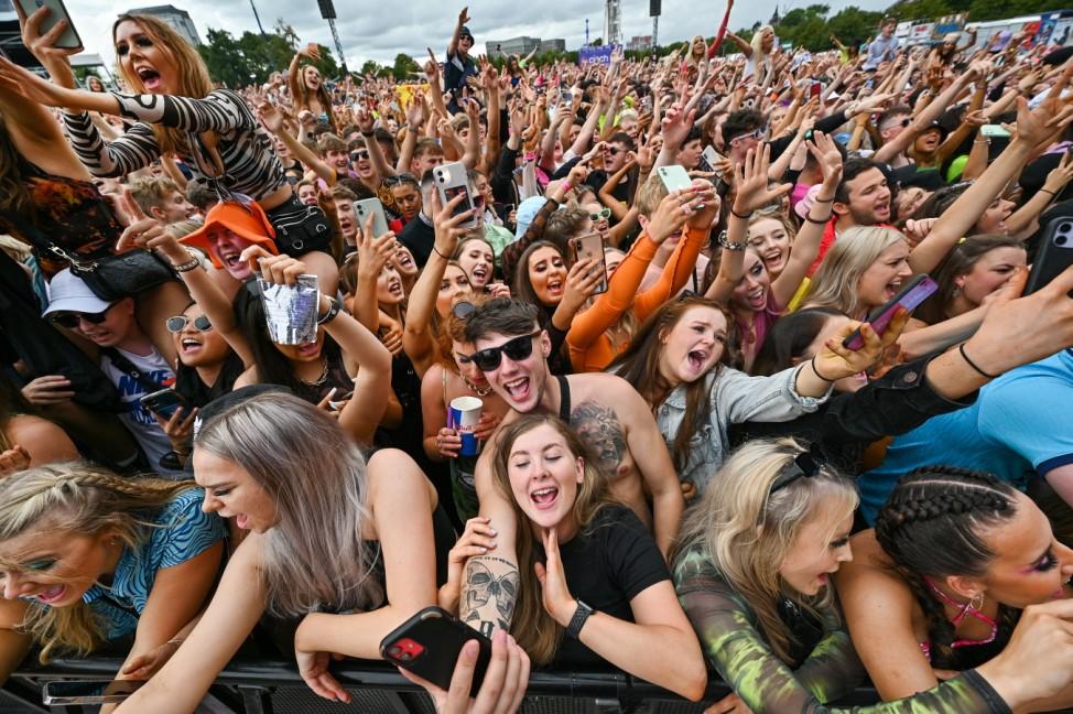 *** BESTPIX *** Music Fans Attend TRNSMT Festival In Glasgow