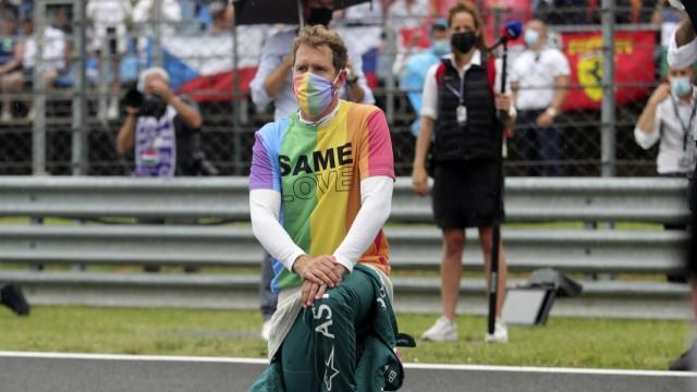 Regenbogen-T-Shirt in Ungarn: Vettel verteidigt seine Aktion