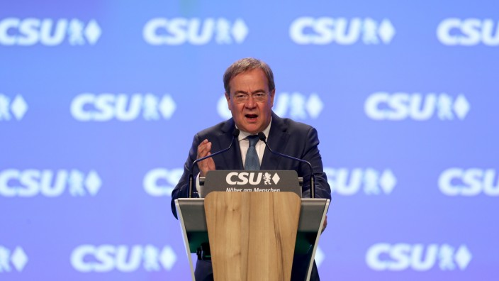 CSU Holds Party Congress Ahead Of Federal Elections