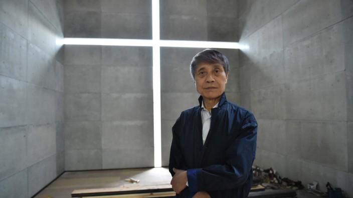 Tadao Ando zum 80.: Vermutlich der einzige Autodidakt unter den Stararchitekten: Tadao Ando, aufgenommen 2017 im National Art Center in Tokyo.