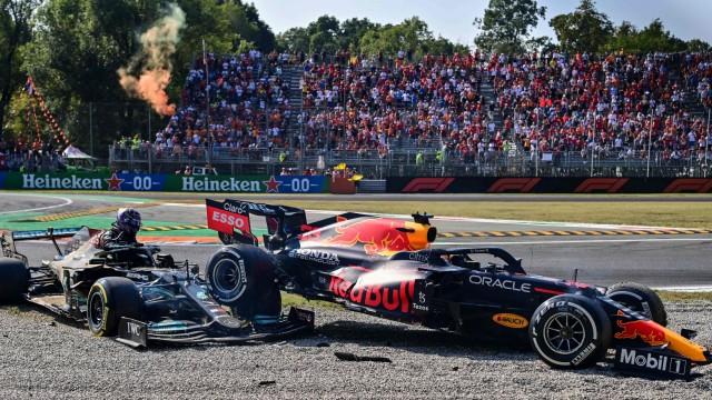 Formel 1 in Monza: Kollision der WM-Führenden in Monza