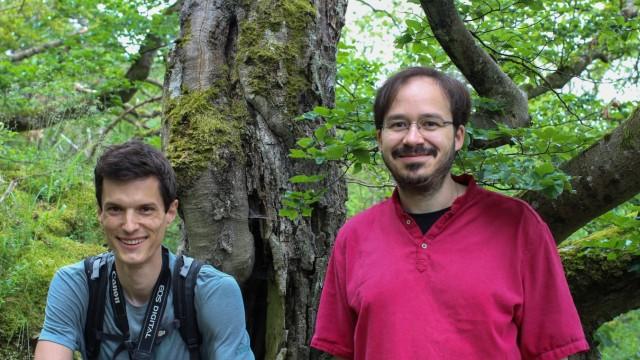Erderwärmung: Stefan Wötzel und Marco Thines vom Biodiversität-und-Klima-Forschungszentrum der Senckenberg-Gesellschaft für Naturforschung in Frankfurt.