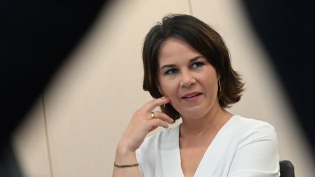 Annalena Baerbock, Kanzlerkandidatin von Bündnis 90/ die Grünen