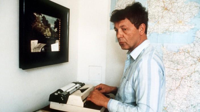 """Eckhard Henscheid 1985 in der Redaktion der """"Titanic"""""""
