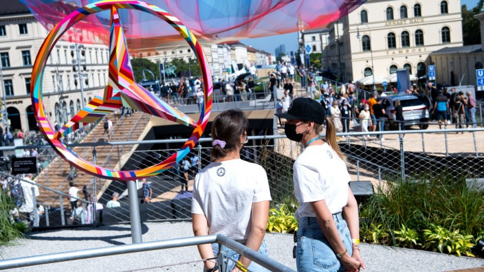 IAA Mobility - Open Space Odeonsplatz