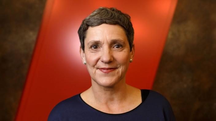Felicitas Hoppe in der WDR Kultursendung Westart live im WDR Filmhaus Köln 24 04 2017 Foto xC xHar