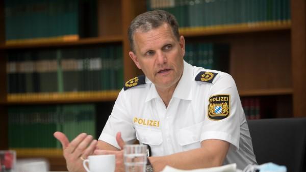 Polizeipräsident Thomas Hampel