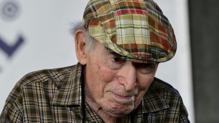 Nachruf: Festival-Impresario George Wein 2019 beim Newport Jazz Festival, das er 1954 ins Leben gerufen hat.