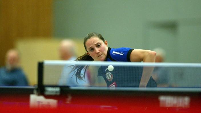 Tischtennis-Bundesliga: Auf sie ist Verlass: Sabine Winter verliert gegen Weinheim in drei Partien für Schwabhausen nicht einen Satz.