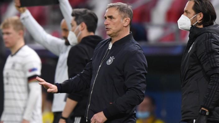 Coach der deutschen U21: Stefan Kuntz könnte bald die besten Fußballer der Türkei trainieren - dort kennt man ihn aus seiner Zeit bei Besiktas.