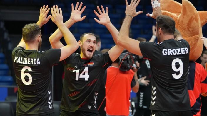 Volleyball EM - Deutschland - Slowakei