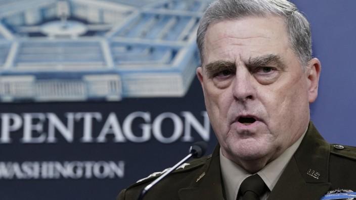 Telefonierte hinter dem Rücken des Präsidenten mit China: General Mike Milley.