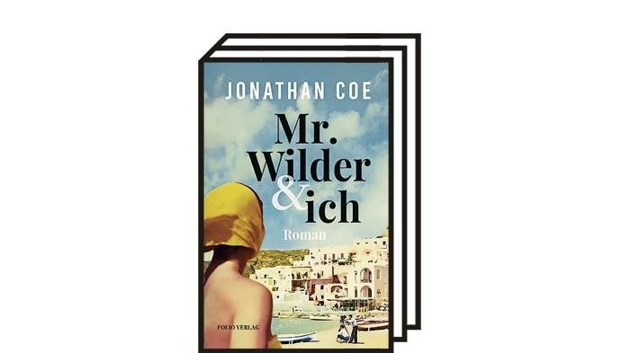 Buchtipp: Mr. Wilder & ich von Jonathan Coe, 280 Seiten, aus dem Englischen von Cathrine Hornung, Folio Verlag, 22 Euro.